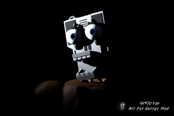 Five nights at Freddy's The Endoskeleton