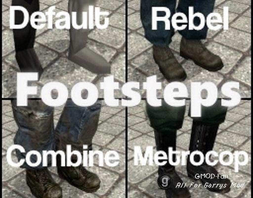 Rebel/Combine/Metrocop Footsteps