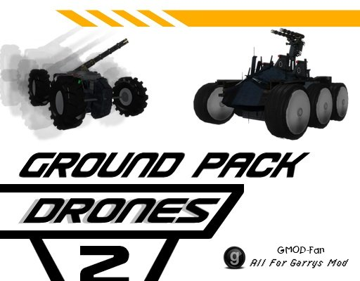 [Drones 2] Ground Drones Pack
