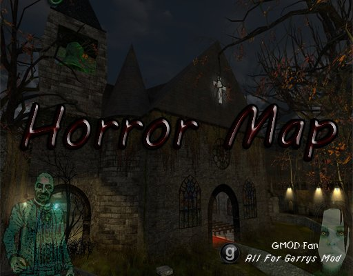 GM Nightmare Church HD - Horror Free Roam Scary Map - High Quality - [2015]