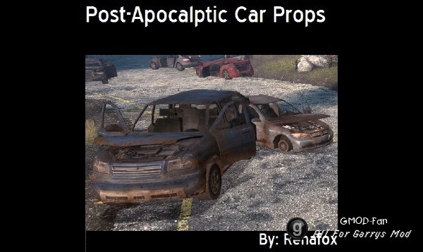Post-Apocalyptic Car Props