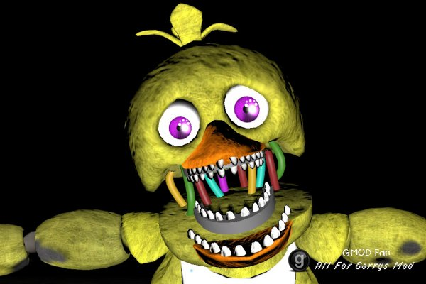 Withered Chica NPC / ENT (Smoke The Bear)