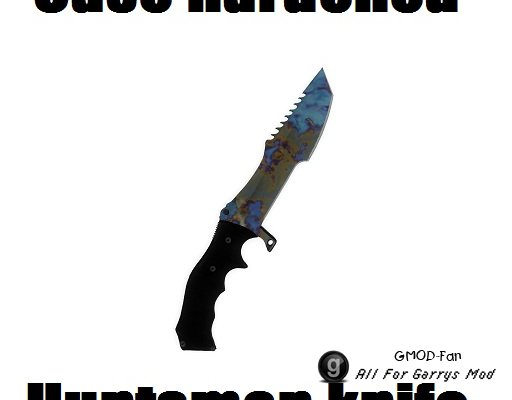 Case hardened huntsman knife [FAS:2]