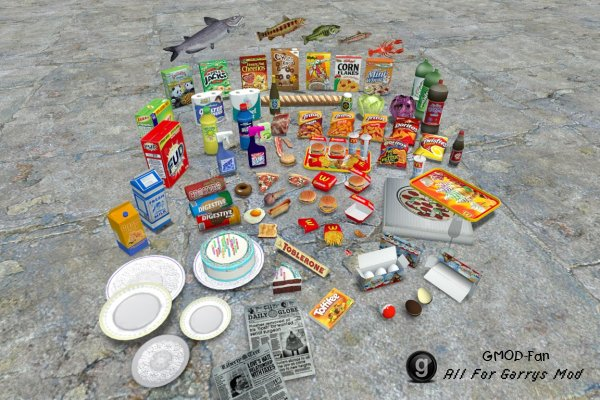 Food and Household items