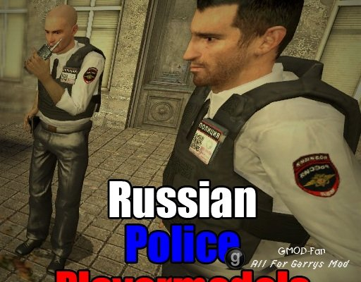 Russian Police Playermodels