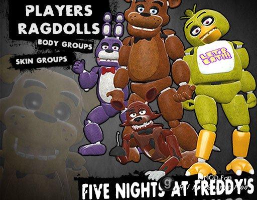 Five Nights at Freddy's Animatronics