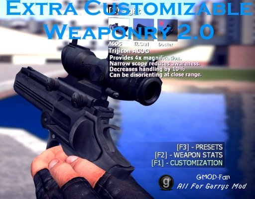 Unofficial Extra Customizable Weaponry 2.0