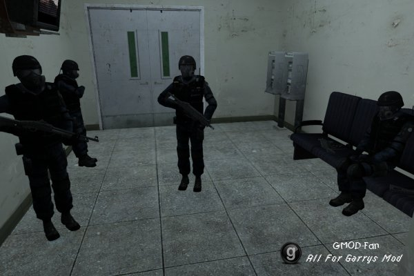 Nightmare House 2 SWAT Team