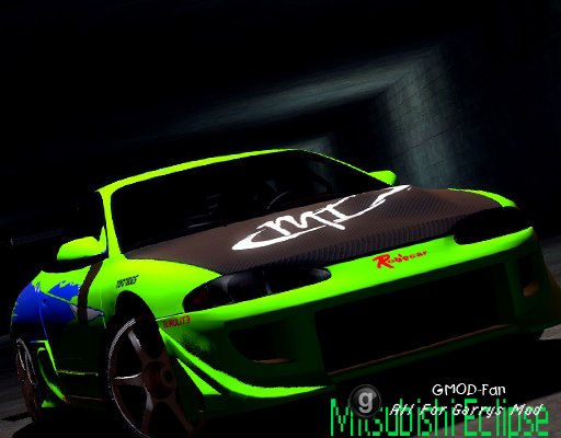 Mitsubishi Eclipse The Fast And The Furious Skin