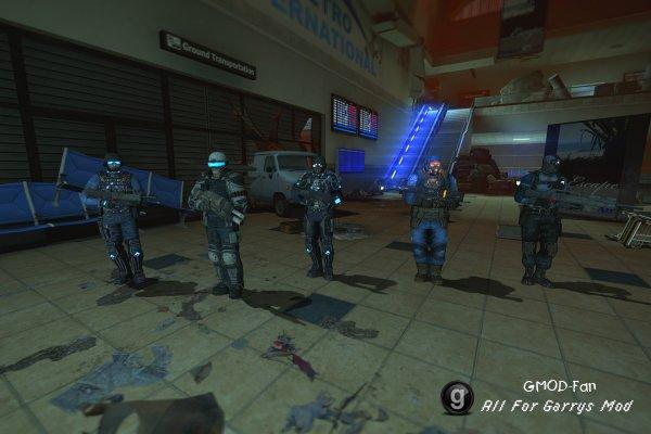 FEAR 2 Enemies - NPCS/Playermodels