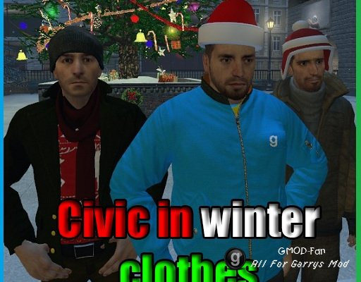 Civic in winter clothes {Playermodels}