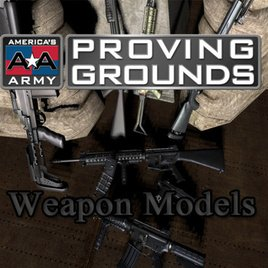 America's Army Proving Ground Weapon Models