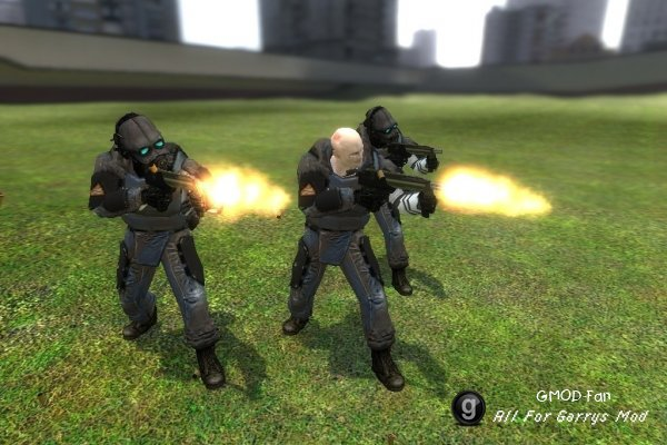 Helmetless Combine Soldier NPC