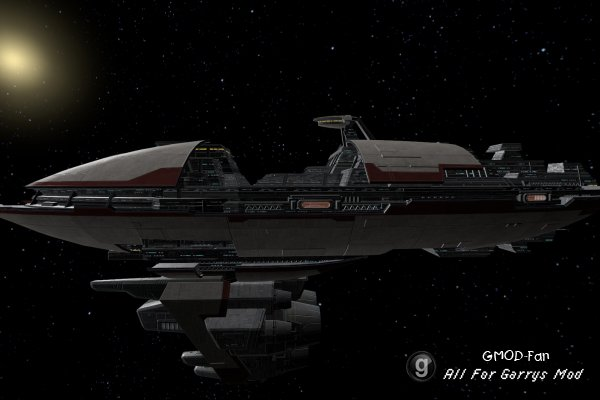 Valor-class Cruiser from Star Wars: The Old Republic