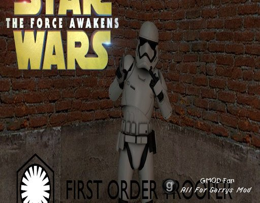 Star Wars: The Force Awakens First Order Trooper [PM\NPC]