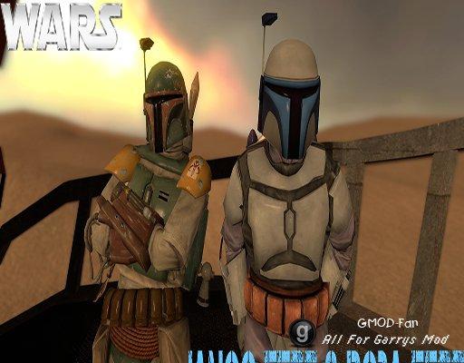 Star Wars Jango and Boba Fett NPCs & Player Models