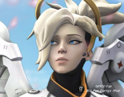 Overwatch - Mercy Playermodel/Ragdoll