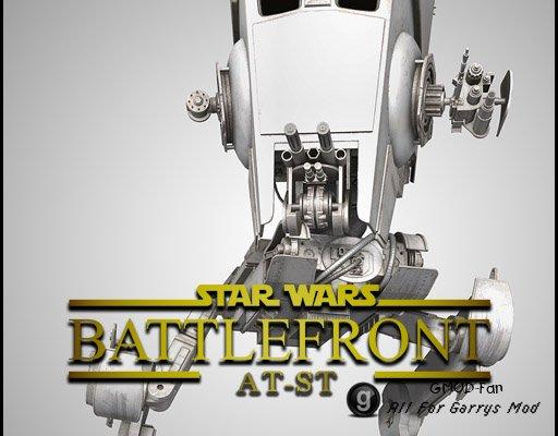 Star Wars Battlefront 2015 - AT-ST
