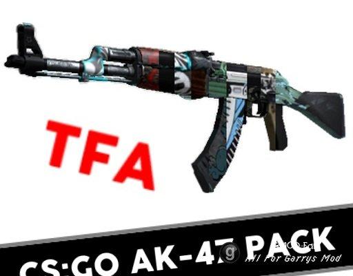 [TFA] CS:GO AK-47 Skin Pack