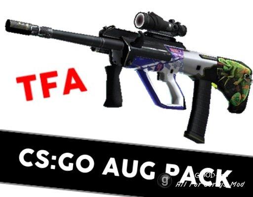 [TFA] CS:GO AUG Skin Pack