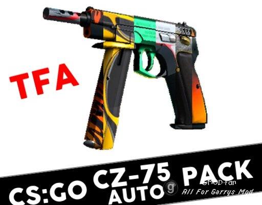 [TFA] CS:GO CZ-75 Skin Pack