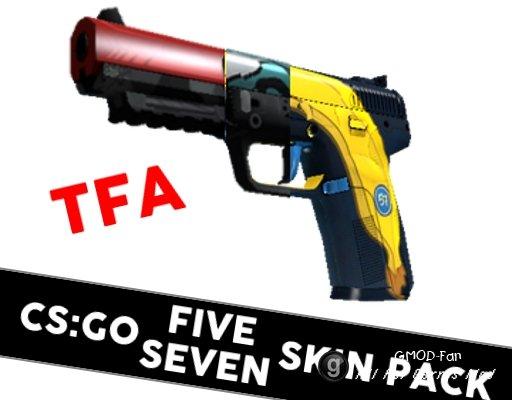 [TFA] CS:GO Five-SeveN Skin Pack