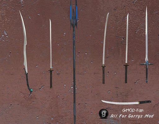 Melee Weapon Pack (15 Weapons)