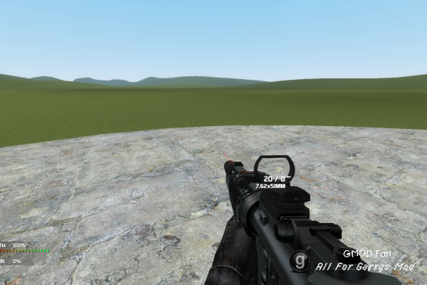 [CW 2.0] mk 11 sniper rifle