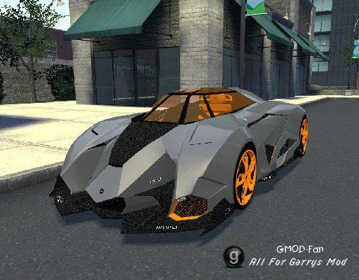 2011 Lamborghini Egoista & New 2013 Lamborghini Sesto Elemento