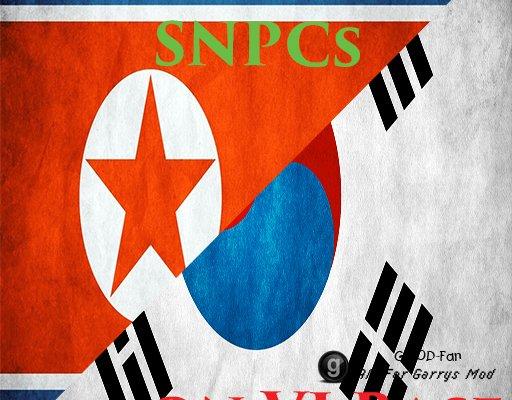 Korean Army SNPCs