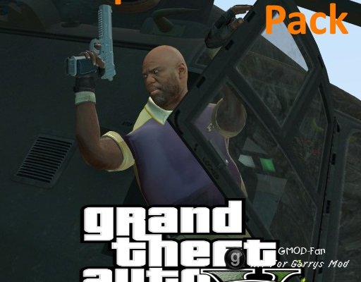 Weapons Models (Grand Theft Auto V)