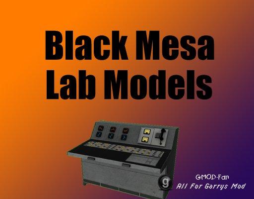 Black Mesa Lab Models