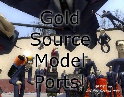 Goldsource Model Ports!
