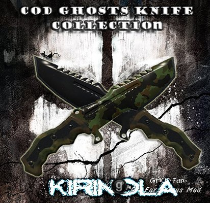 CoD Ghosts Knife Collection