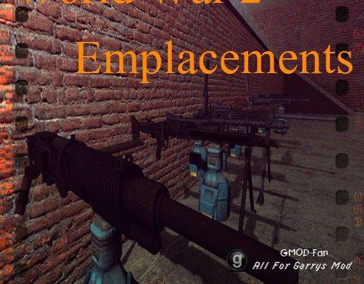 World War 2 Machine Gun Emplacements