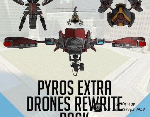 Pyros Drones Rewrite Extra