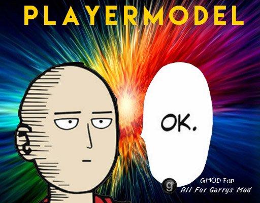 Saitama Playermodel (One Punch Man)