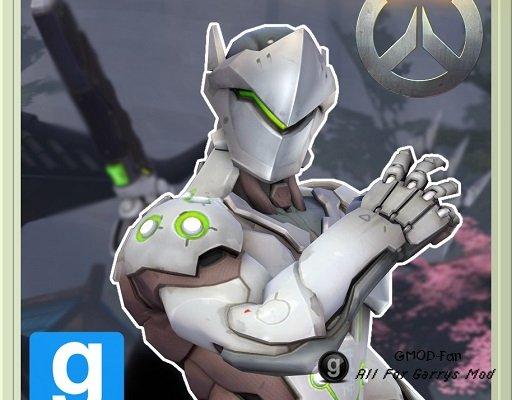 Overwatch - Genji Playermodel/Ragdoll