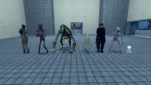 Zombies + Enemy Aliens+ SNPCs