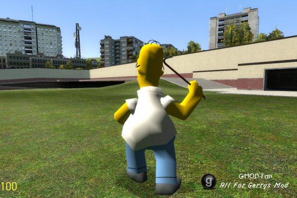 Homer Playermodel