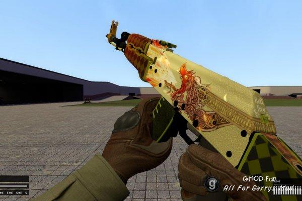 [TFA] CS:GO AK-47 Dragon Lore