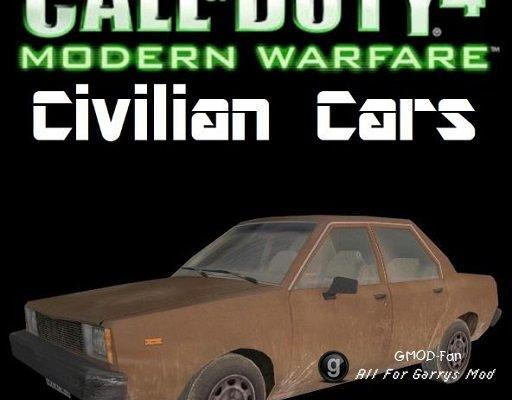 Modern Warfare Civilian Cars