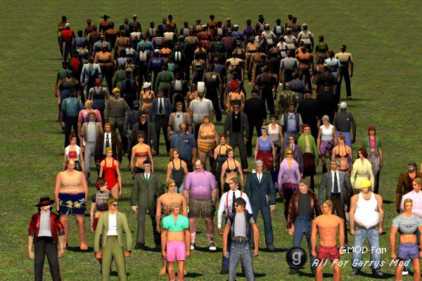 GTA Vice City Playermodels & NPCs