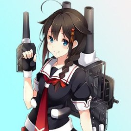 Shigure (Kancolle) Playermodel and NPC