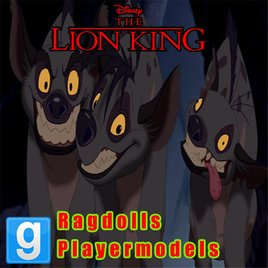 The Lion King - Hyena Playermodels and Ragdolls