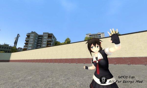 Shigure (Kancolle) Playermodel and NPC