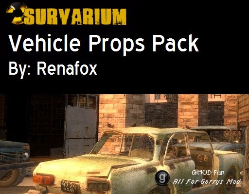 Survarium Vehicle Props Pack