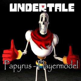 Papyrus - Playermodel Undertale