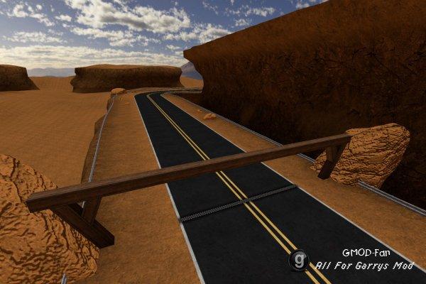 SligWolf's Desert RaceMap