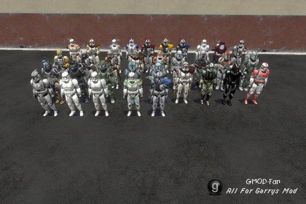 Star Wars Clone Troopers SNPCS